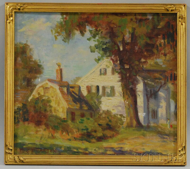 Marguerite Stuber Pearson (American, 1898-1978)      Old House, Cove Hill