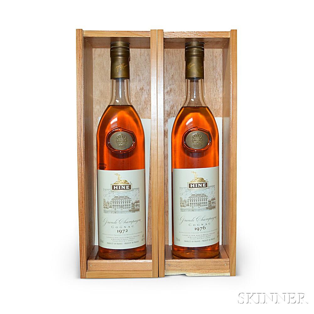 Mixed Hine, 2 750ml bottles