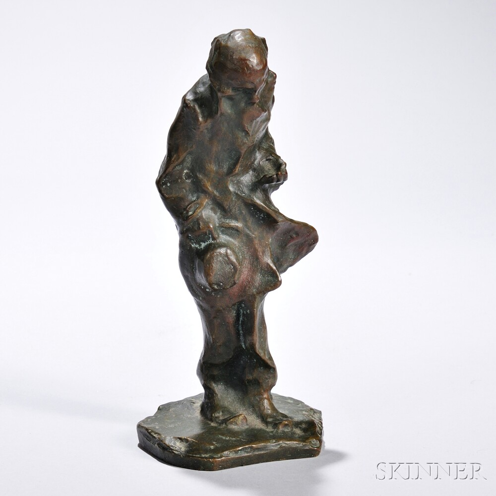Bronze Figure of an Old Man