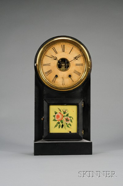 """""""Eight Day Mantel, Spring"""" Clock by the Terry Clock Company"""