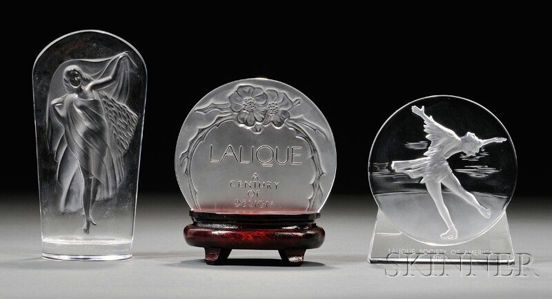 Three Lalique Medallions