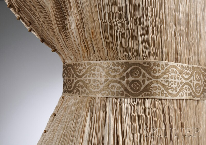 Mariano Fortuny Silk Pleated
