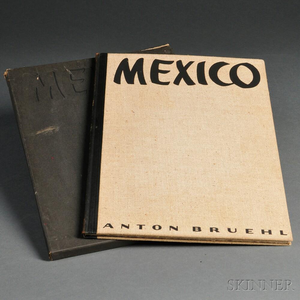 Bruehl, Anton (1900-1983) Photographs of Mexico