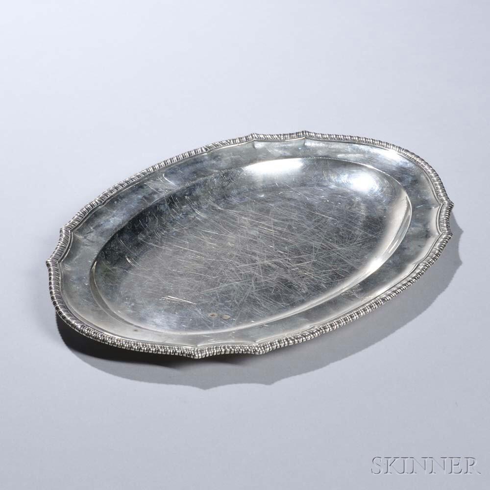 George III Sterling Silver Platter