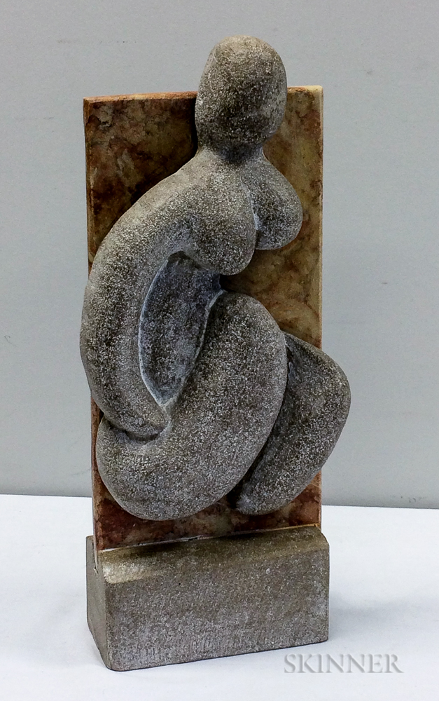 Anthony G. Gennarelli (American, 1915-2001)      Female Nude Sculpture