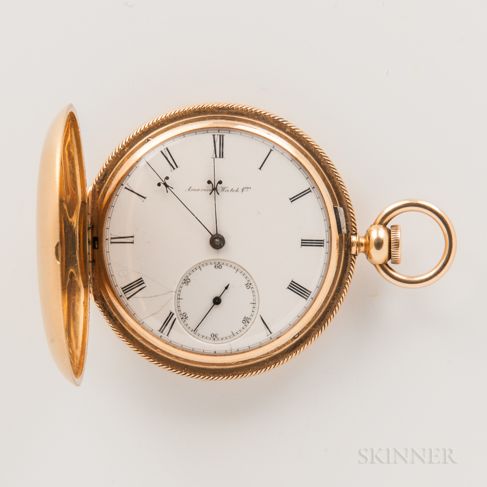 Appleton Tracy & Co. 18kt Gold Hunter-case Watch