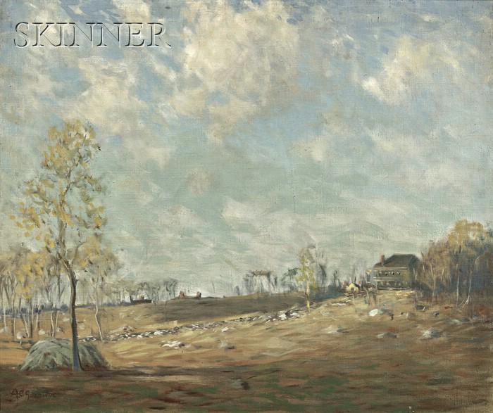 Arthur Clifton Goodwin (American, 1864-1929)      Summer Landscape