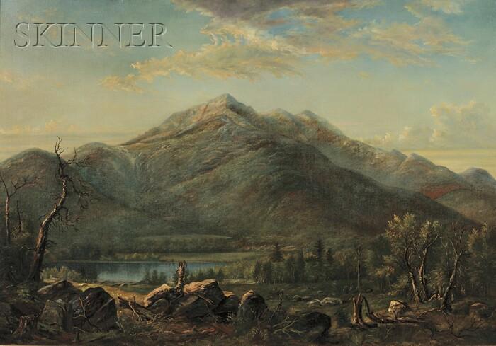 American School, 19th Century      New England Mountains