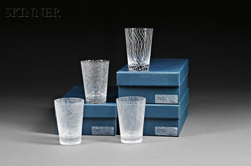 Sol LeWitt (American, 1928-2007)      Three Sets of Tumblers