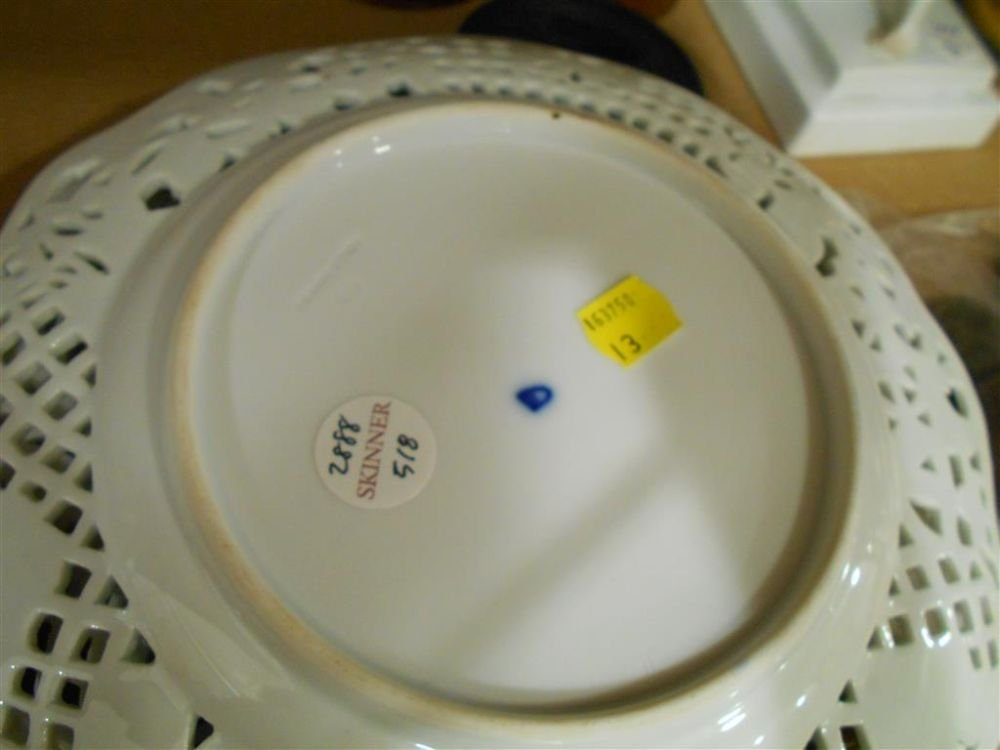 Set of Twelve Porcelain Dessert Plates