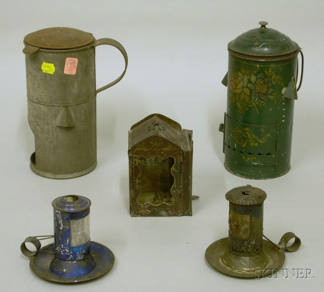 Five Assorted Lanterns