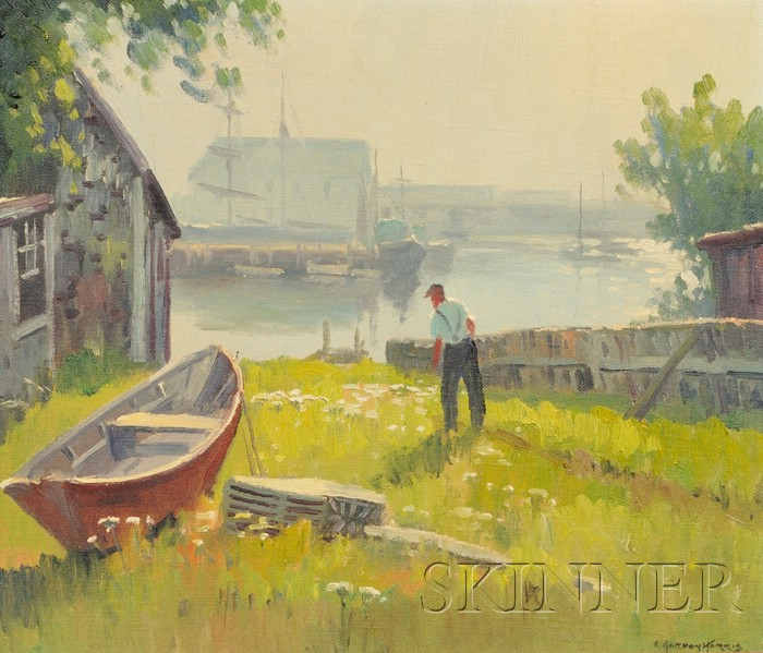Charles Gordon Harris (American, 1891-1963)      Wickford Harbor