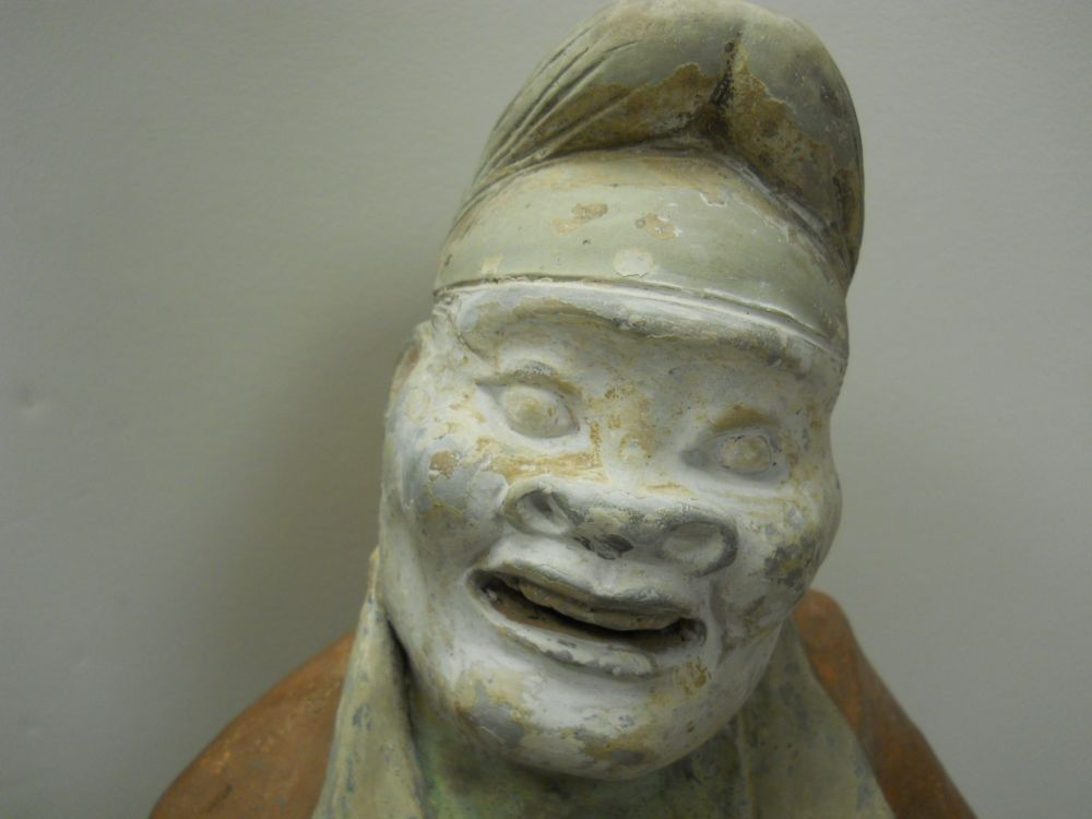 Pottery Figure of a Foreign Groom