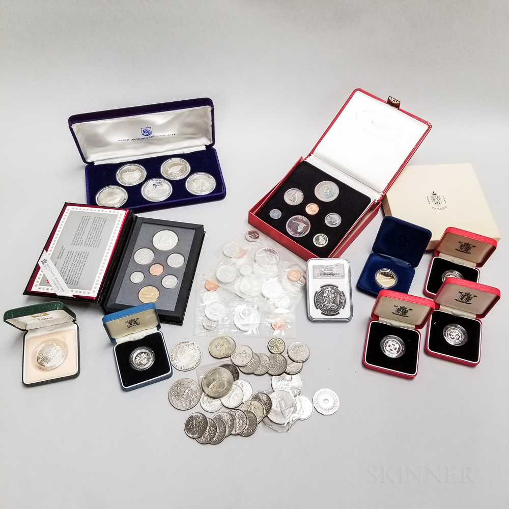 Group of World Coins and Sets