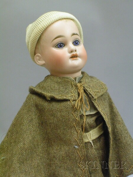 Armand Marseille Bisque Head Boy Doll