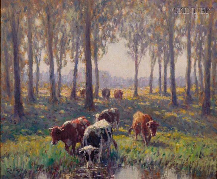 George Arthur Hays (American, 1854-1945)      Watering Place