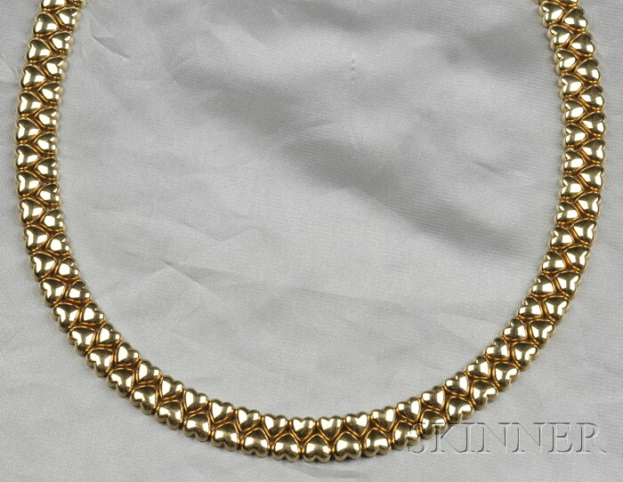 18kt Gold Necklace, Cartier