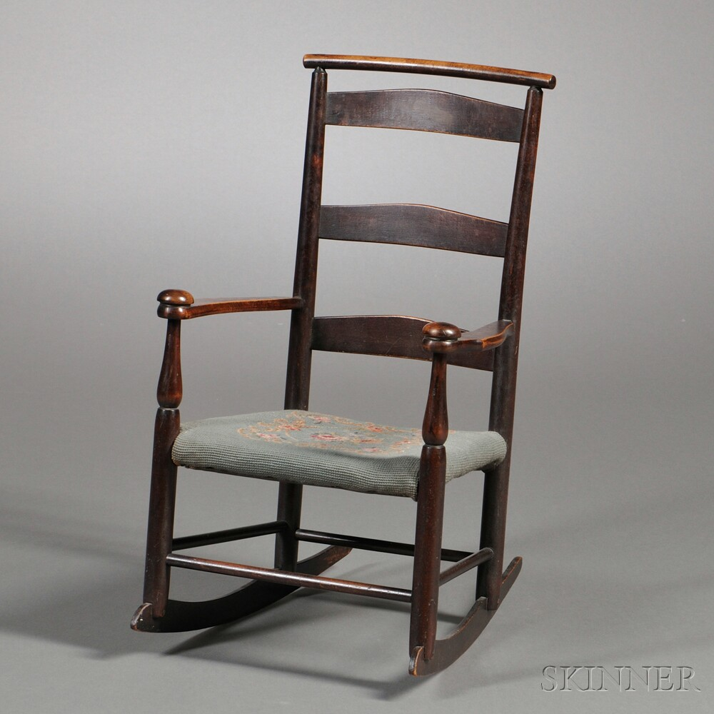 "Shaker Production ""No. 0"" Child's Rocking Chair"