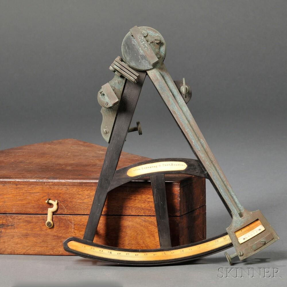 Spencer Browning & Rust 12-inch Ebony Octant
