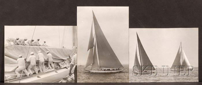 Collection of America's Cup Ephemera and Photos