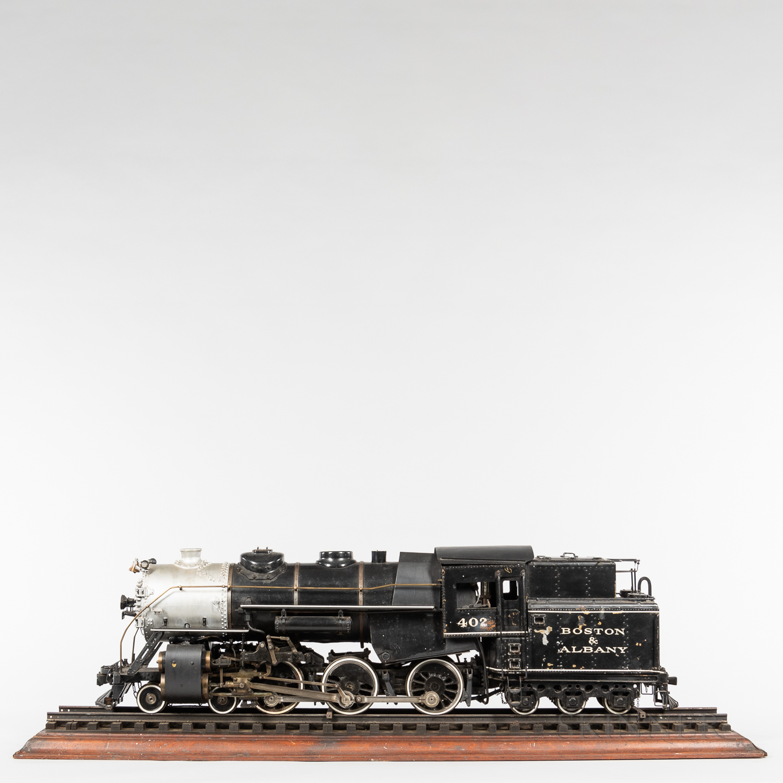 "Live Steam Model Boston & Albany 4-6-6 ""402"" Locomotive"