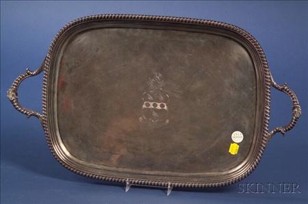 George III Silver Tray