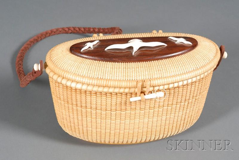Nantucket Basket Shoulder Purse