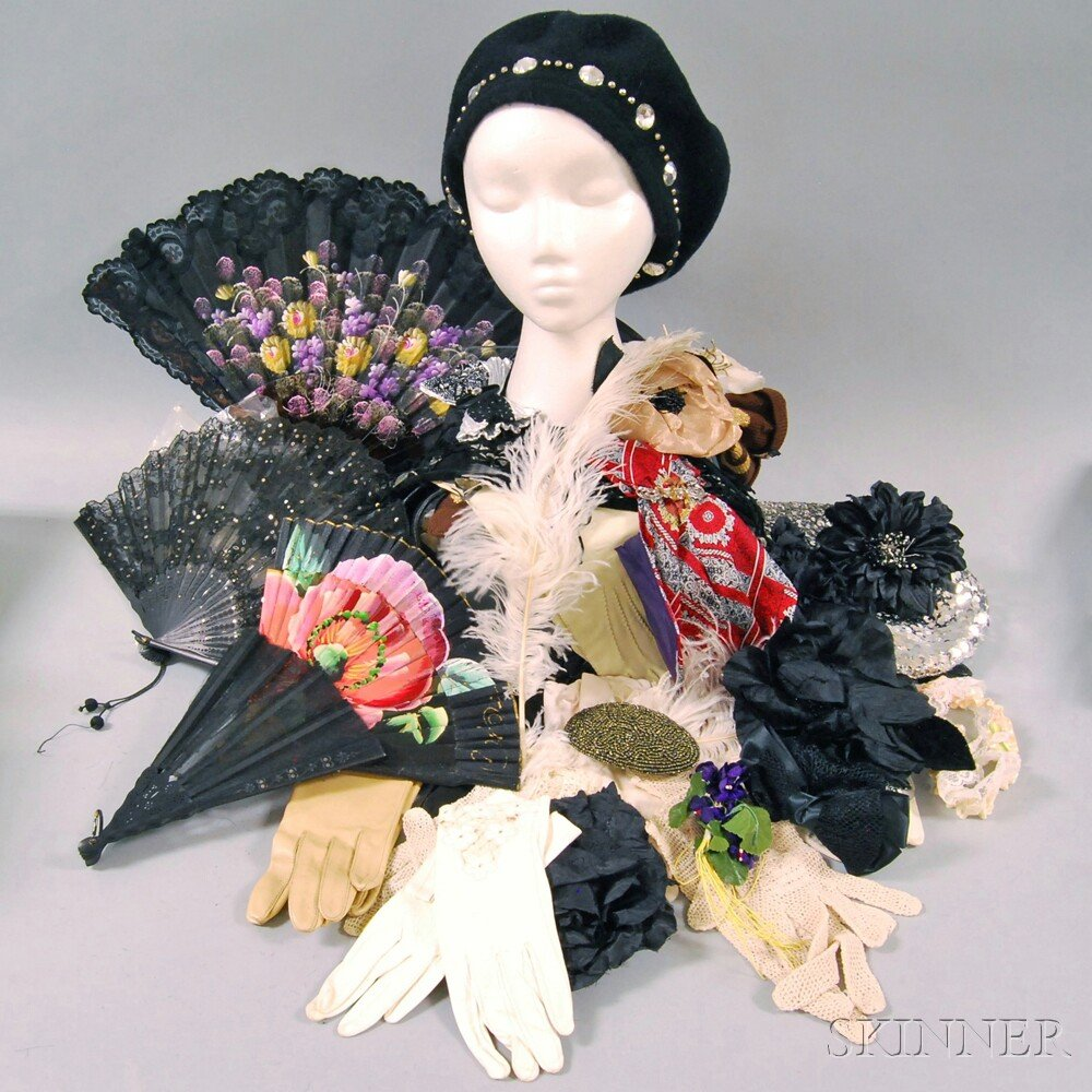 Group of Vintage Lady's Fashion Accessories