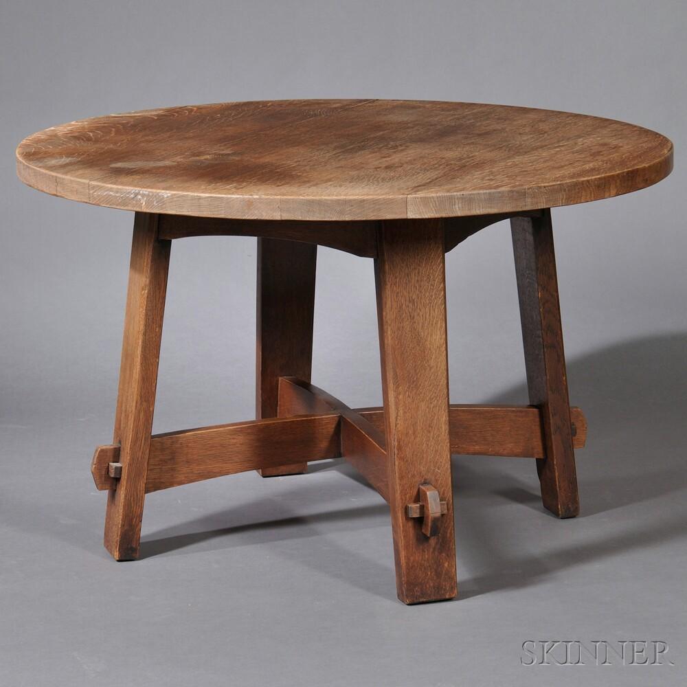 Gustav Stickley Eastwood Table
