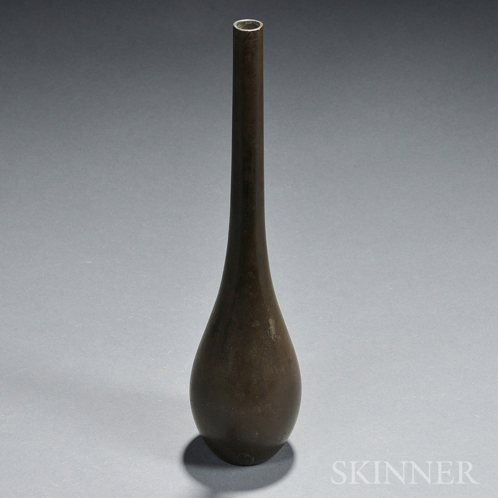 Bronze Crane-neck Bottle