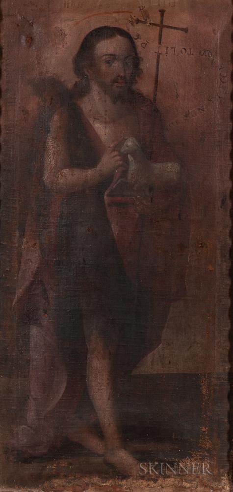 Spanish Colonial, 18th Century      John the Baptist