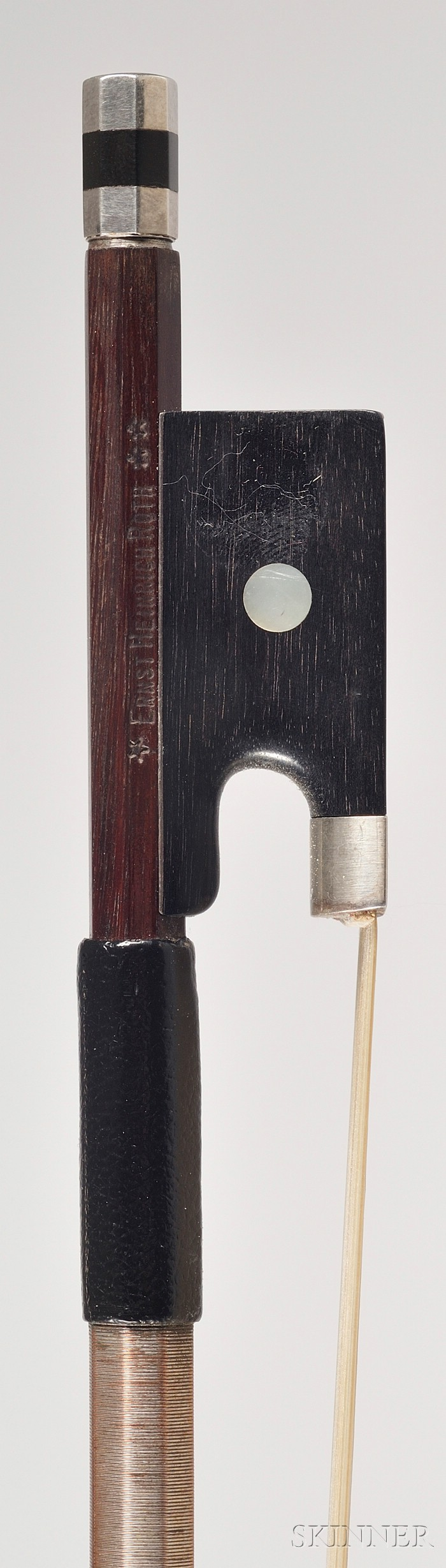 Silver Mounted Viola Bow, Ernst Heinrich Roth Workshop