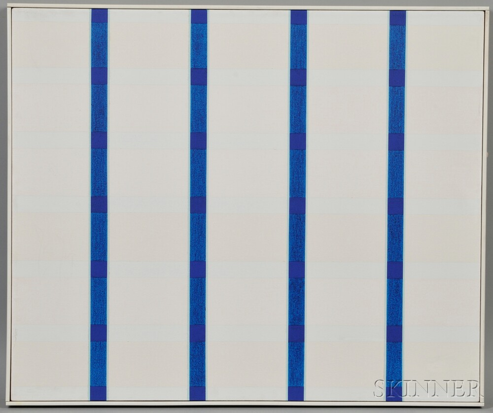 Naohiko Inukai (Japanese, b. 1937)      Four & Six, No. 1, 1967