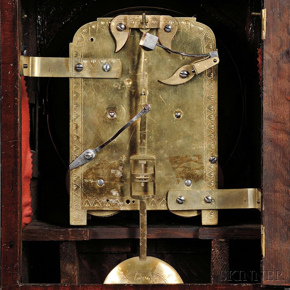 Charles Viner Mahogany Bracket Clock