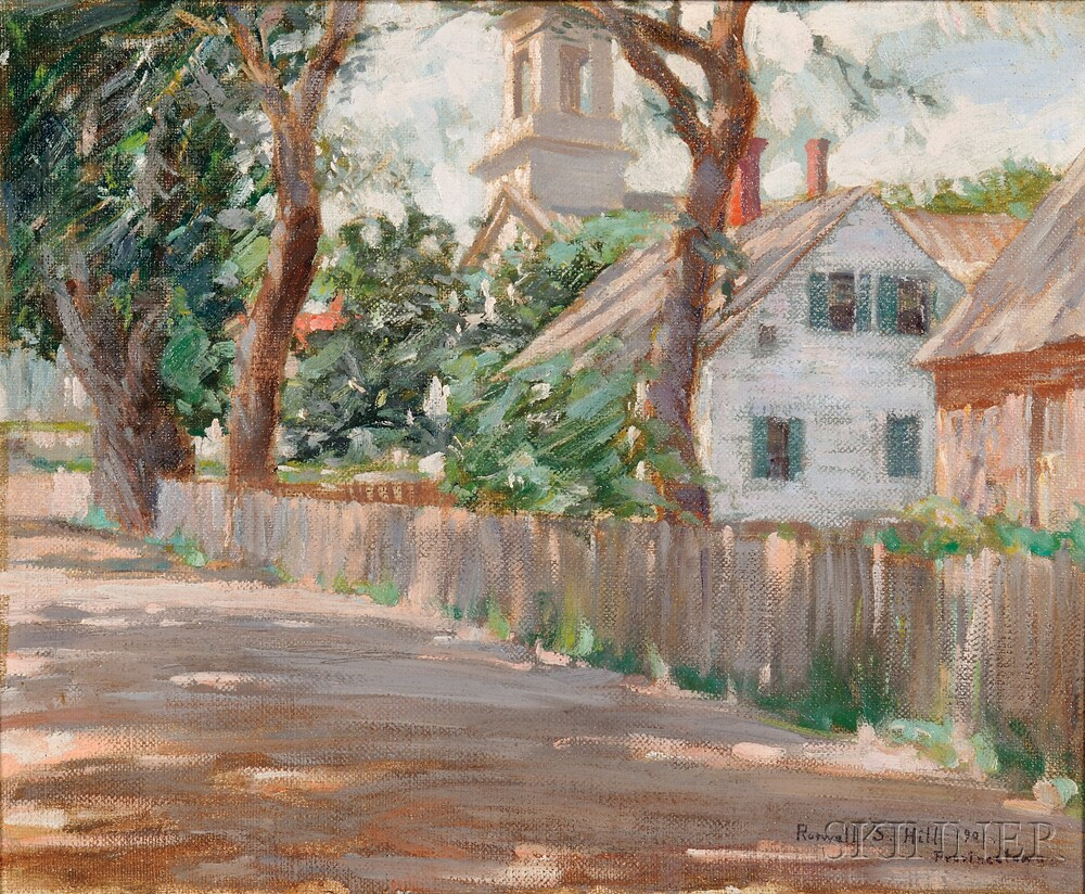 Roswell Stone Hill (American, 1861-1907)      Provincetown