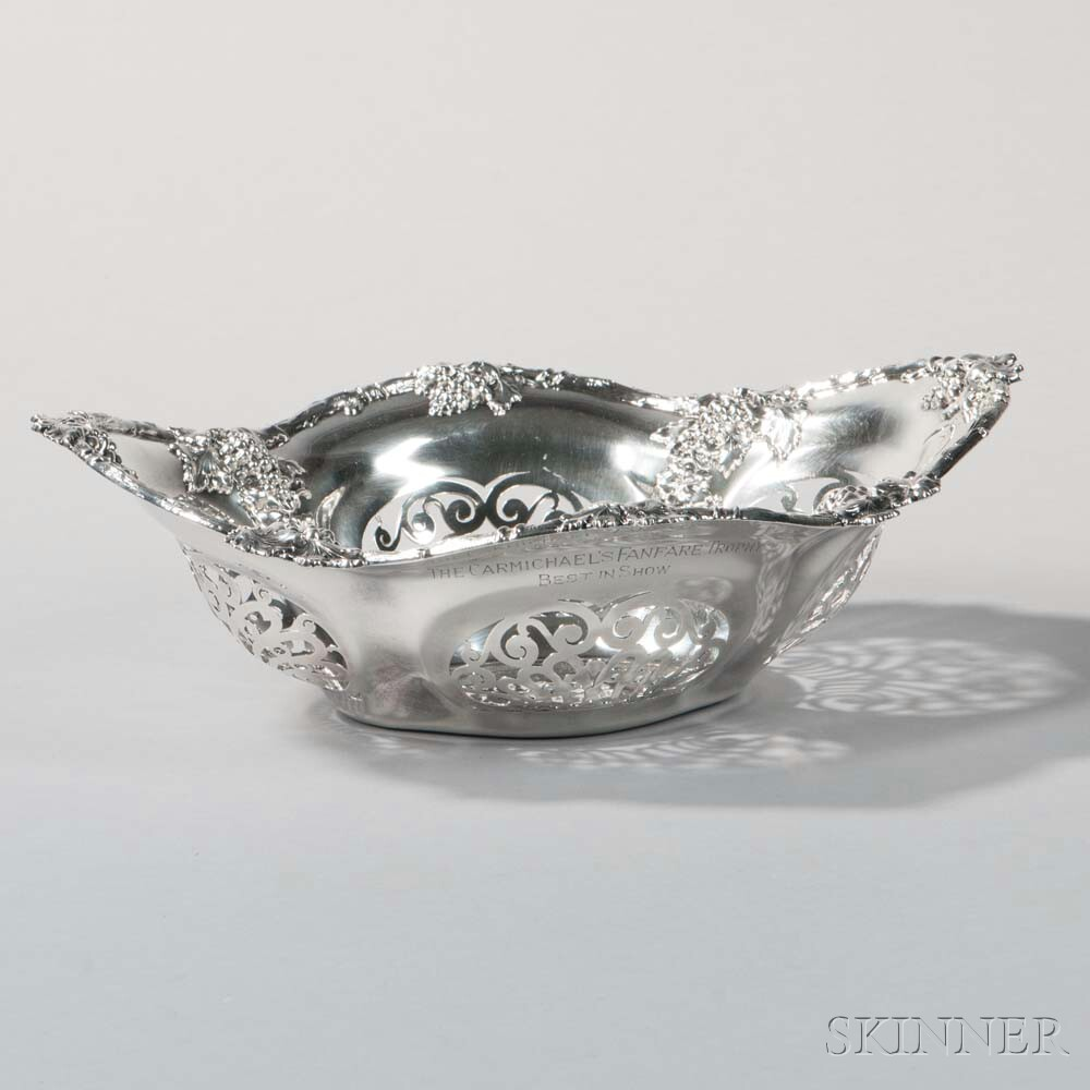 Howard & Co. Sterling Silver Trophy Bowl