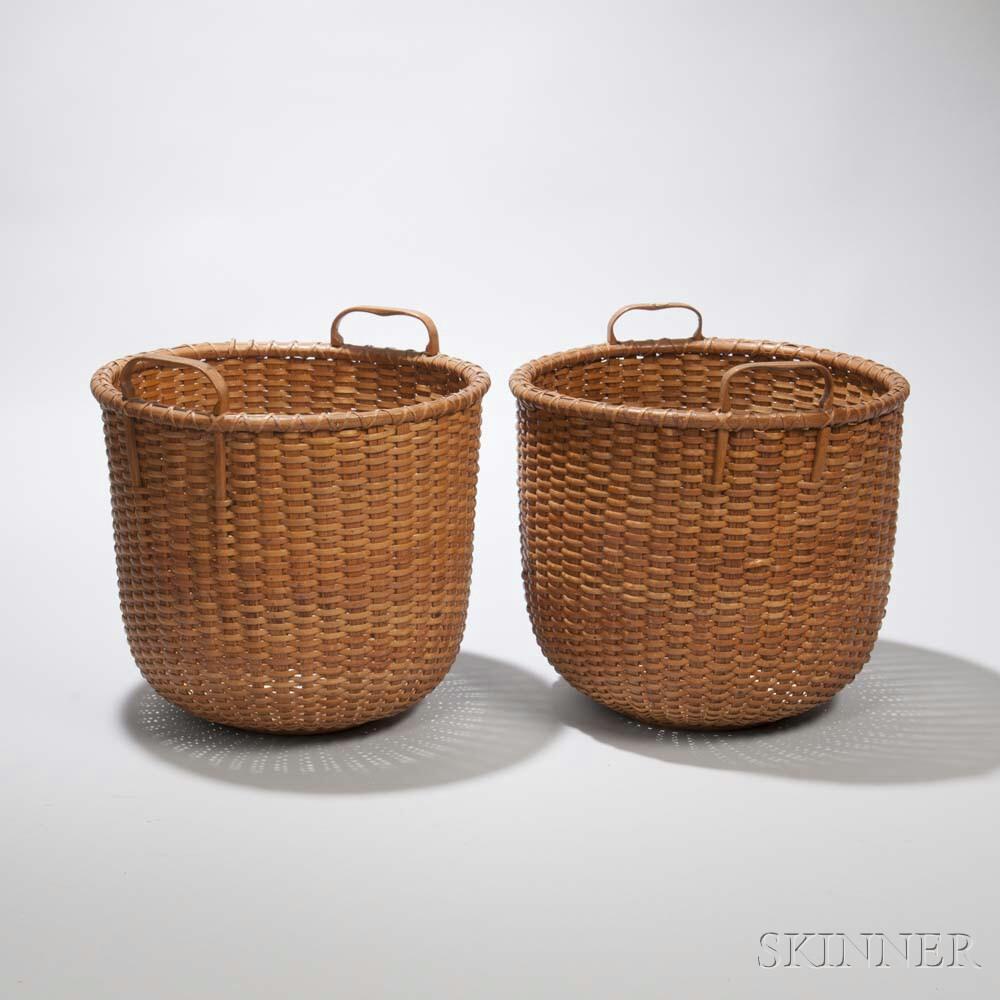 Two Nantucket Baskets