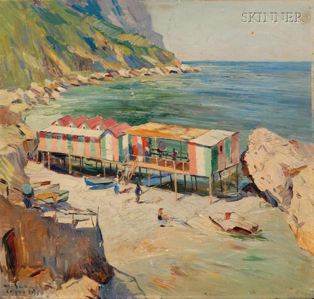 Matteo Sarno (Italian, 1894-1957)      Capri