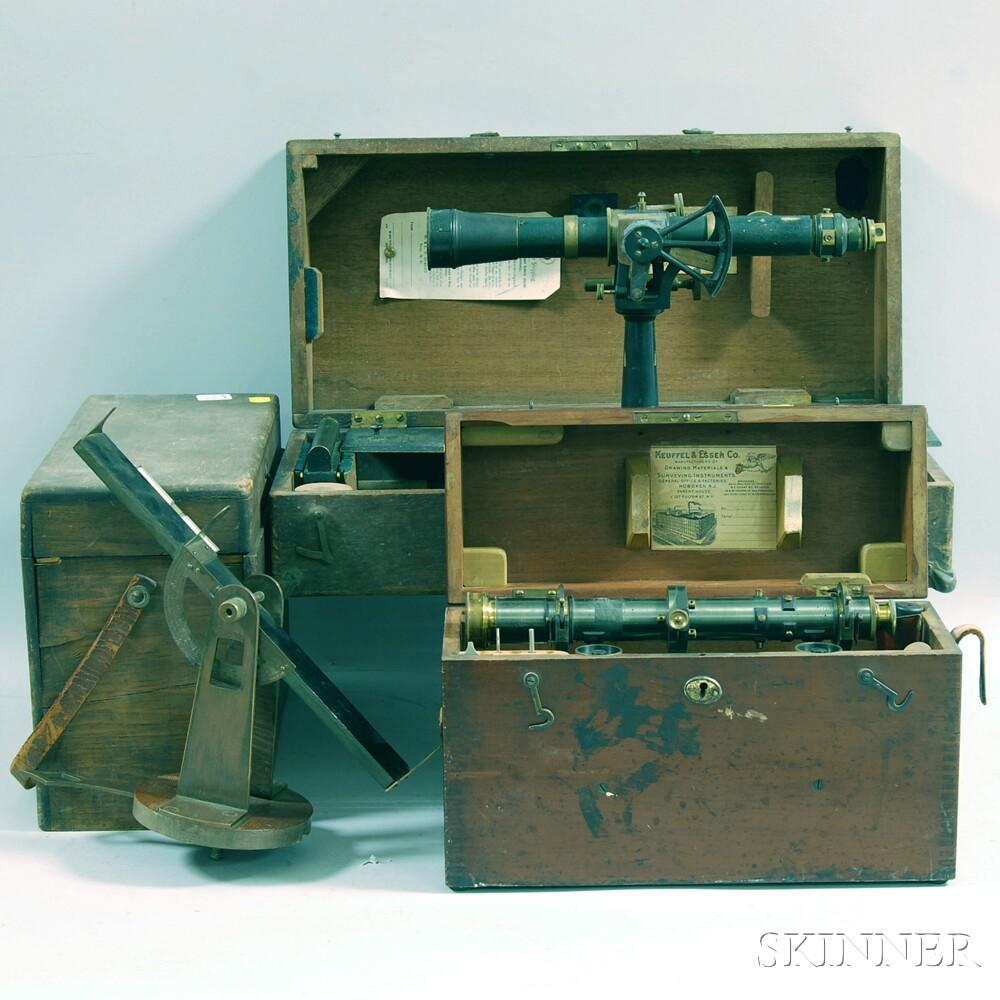 Three Surveyor's Instruments