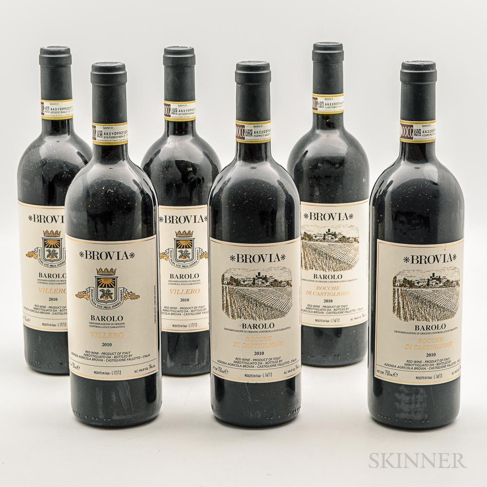 Fratelli Brovia, 6 bottles