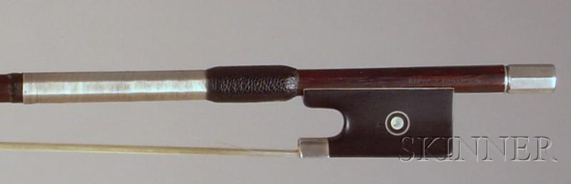 Silver Mounted Violin Bow, Eugene Sartory