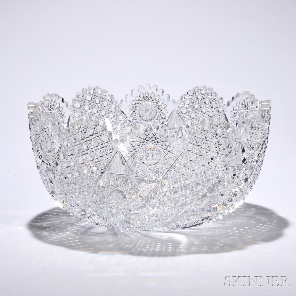 Brilliant Cut Glass Bowl