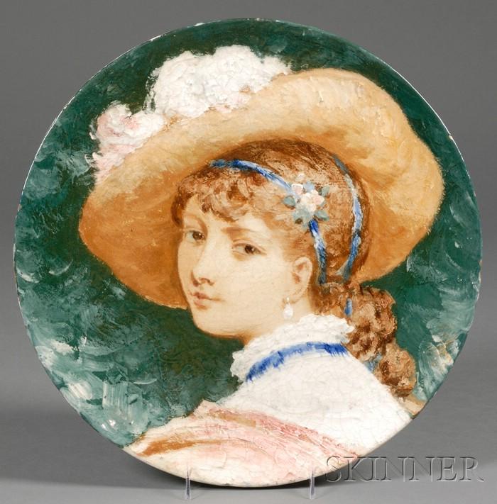 Porcelain Portrait Charger