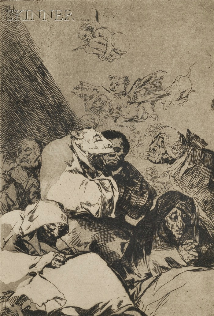 Francisco de Goya (Spanish, 1746-1828)      Correccion