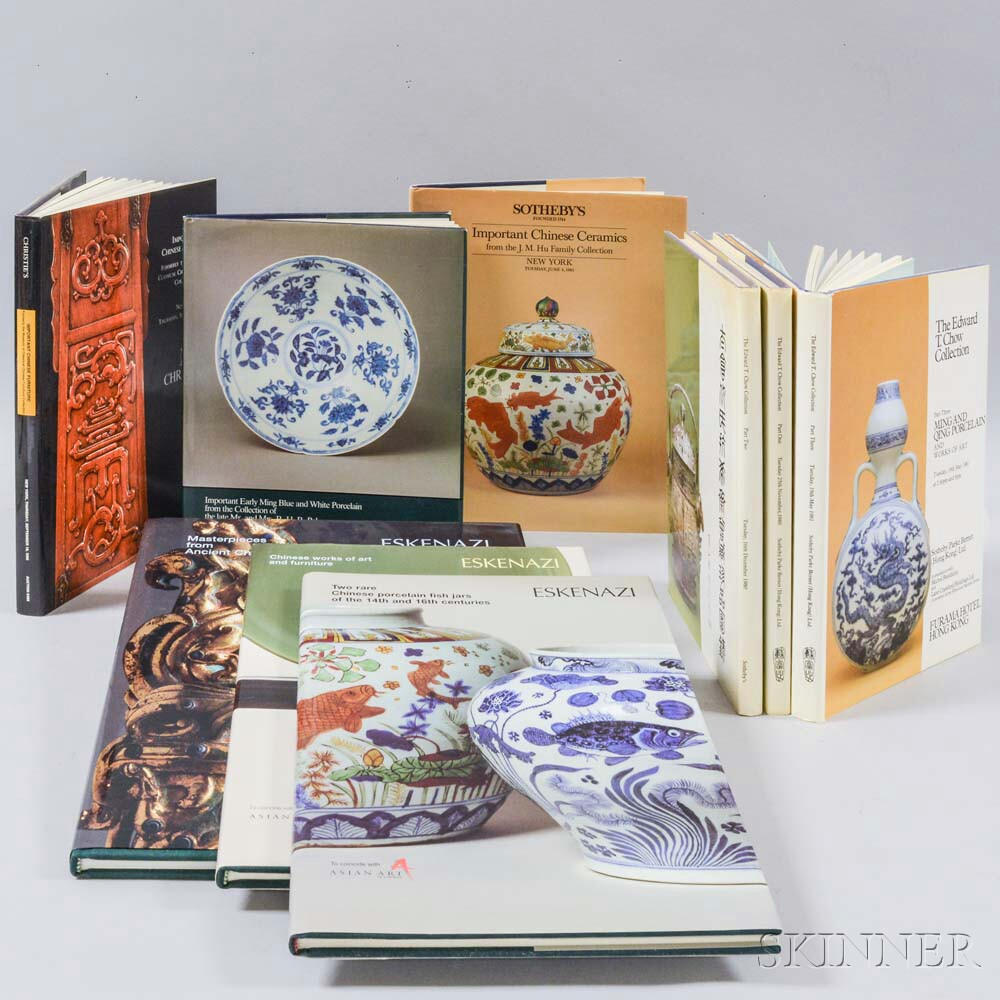Seven Chinese Art Auction and Dealers Catalogs