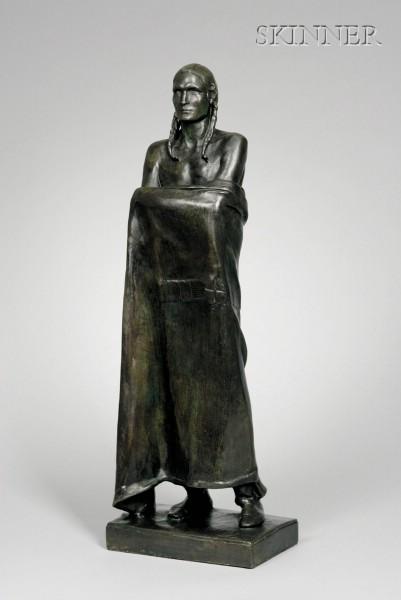 Alexander Stirling Calder (American, 1870-1945)      The Warrior