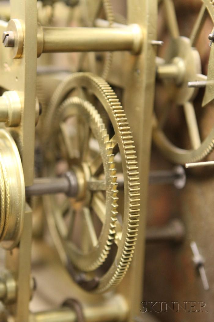 Mahogany Sixty-Day Duration Longcase Clock by William Wilkinson