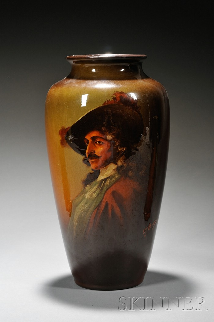 Weller Louwelsa Line Portrait Vase