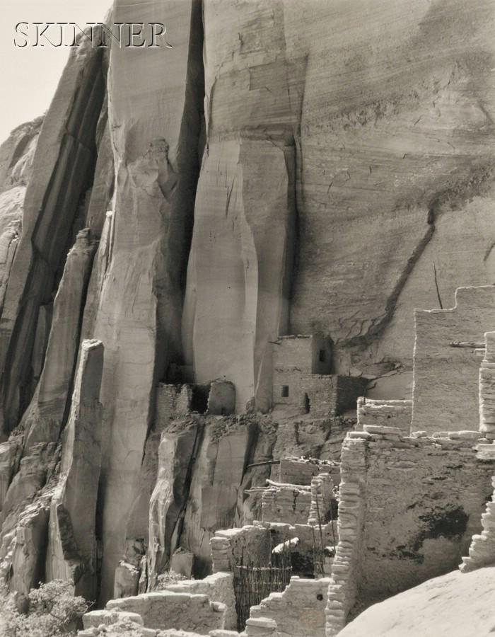 Laura Gilpin (American, 1891-1979)      Beta-Ta-Kin Cliff Dwelling Navajo National Monument