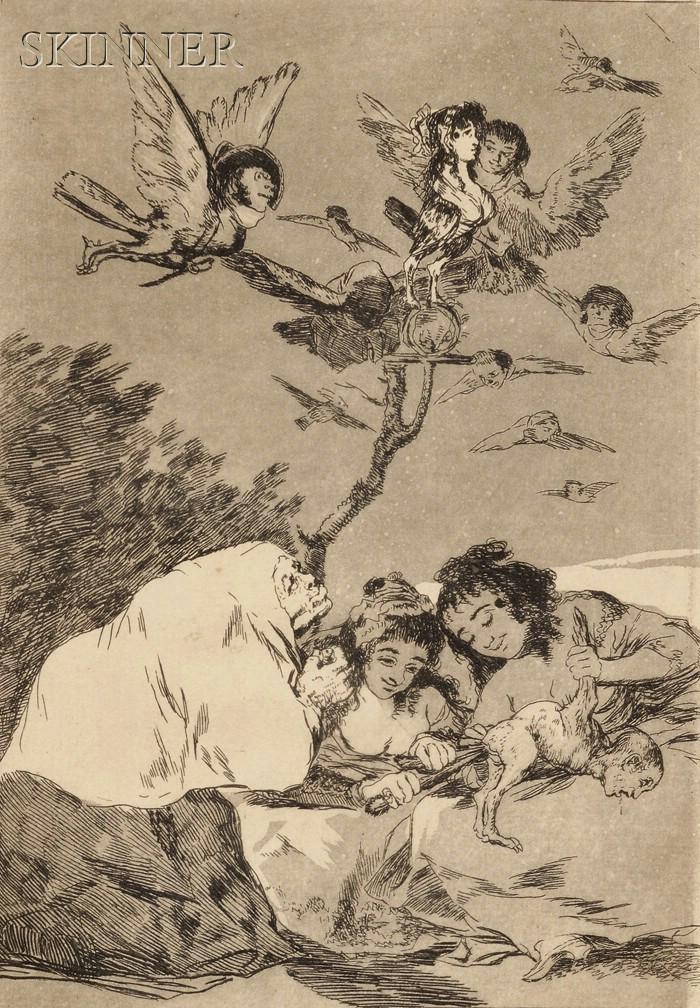 Francisco de Goya (Spanish, 1746-1828)      Todos Caerán
